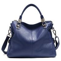 2014 Hot selling women 100% genuine leather women handbag/ all-match fashion cowhide leather woman handbag/ lady's messenger bag