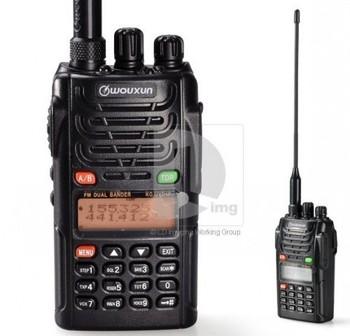 DHL freeshipping +Best sell Vhf uhf dual band handheld 2 way radio communication/ interphone/ham transceiver wouxun kg-uvd1p