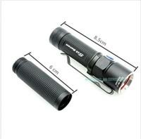Free Shipping!!Olight S15 Baton 1xAA XM-L2 280 Lumen LED Flashlight Magnet Tail +1 pcs Extended Tubes