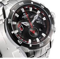 Relogios  Fashion New Top Brand Casima 8201 Mens Watch Quartz Racing Japan Movement Calendar Back Light Waterproof 100m