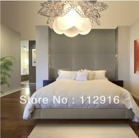 3w LED lighting chandelier lamp for for living room home modern hallway light ceiling crystal lampshade led panel 85-265V abajur