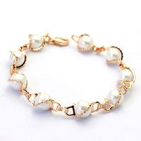 Italina Rigant Luxury Freshwater Pearl Bracelet Elegant Women Brand Free Shipping