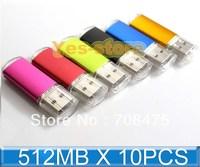 10PCS 512MB USB Drive Memory Flash Cap Model Advertising Promotions Pendrive Stick