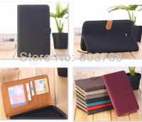 PU Leather Book Cover Wallet Case for Samsung Galaxy Tab 3 7.0 T210 T211 T2100 T2110 P3200,retail and wholesale,,Free shipping
