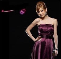 2013 prom   Evening Dresses, ,Satin fabric Sexy  elegant short dress,  Free Delivery