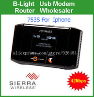 Unlocked 42Mbps Sierra wireless aircard 753s Wireless Mobile Hotspot  3G MiFi Router mifi mini Route  have packong box