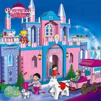 ORIGINAL PACKING New Arrival toy blocks  580 pcs princess  building blocks model christmas toys for girls birthday gift for girl