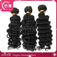 Cheap 5A Deep Wave Mmalaysian Virgin Curly Hair 3 pcs Unprocessed Virgin Malaysian Hair Free Shipping