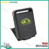 DHL free shipping 10pcs/lot Mini Car Vehicle GPS/GSM/GPRS Tracker TK102 Mini Global Real Time 4 bands Tracking Device