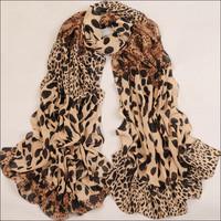 Big size 168*70 2014 BRAND NEW Style Women's Long Silk Scarf  Velvet Chiffon Lady's scarves for women SK033