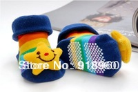 Newborn Socks/1pcs/lot Baby Kids Infant Shoes Socks/1-7 Months Old Toddler Three-dimensional Animal Socks/18 Colors/ATS