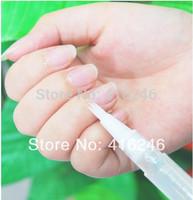 Free Shipping 6Pcs Cuticle Revitalize Oil Mix Taste Nail Art Salon Treatment Care Set