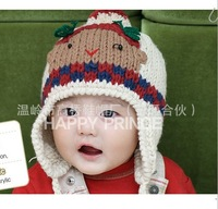 1pc FREE Shipping 2 colors New Arrival , Fashion Children Hats,Winter crochet Hat, Children Warm Hat Knitted Hat baby Kids caps
