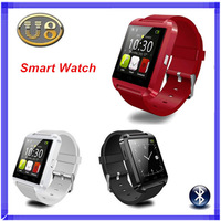 New U Watch U8 Smartwatch Bluetooth Smart watch WristWatches for iPhone Samsung HTC Android Phone Smartphones + Anti-lost