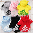 Free Shipping ! 2013 New Fashion Spring Summe Dog Clothes, Cotton Sportswear Cool Clothes For Dogs Hot Sale!!!(China (Mainland))