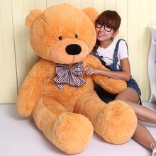 Birthday gift girls large giant plush teddy bear doll wedding gift straight length