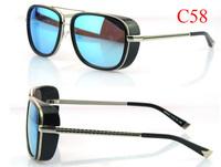 Matsuda Tony Stark Sunglasses men brand designer Fashion sunglasses With Case Bulk Wholsale 100pcs DHL Free Shipping