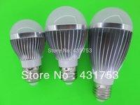 2014 Top Fasion Rushed Ce Led Bulb Ac85-265v Led Bulb Lamp ,dimmable Bubble Ball ,e14 E27 Warm/cool White,5*2w +freeshipping