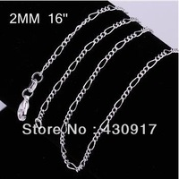 Min Order is $10(Mix Order) Hot Selling 925 Silver Pendant With Chains Wholesale 925 Silver Fashion Jewelry Chains Necklaces