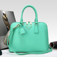 2013 Portable women's  shoulder bag shell bag women messenger bag  women genuine leather handbag  M size:30*13*23cm