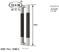 Entrance Door Handle PA-207-38*38*800mm Pull Handle For Glass/Timber/Metal-frame Doors