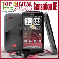 3pcs/lot Unlocked Original HTC Sensation XE Z715e G18 Android 8MP 3G  WIFI GPS 4.3'' Dual core cell phone