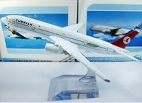 Free Shipping,The Turkish airlines B777, 16cm, metal airplane models,Airlines plane model,