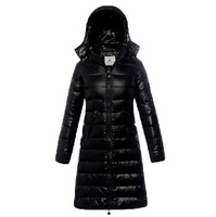 2013 Winter Slim Down Coat Medium-long Women's Down Jacket Thick