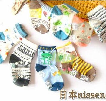 Patterns selectable, anti-slip baby boy socks, kids children cotton slip-resistant socks, 12cm, free shipping, retail, wholesale