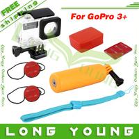 Go pro hero 3 3+ accessories set mount Bobber Floating Handle Floaty Surf Mounts Housing Pack for GoPro HD Hero 3+  3
