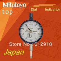 Japan sanfeng Mitutoyo dial indicator pointer indicator 2046 s 0 to 10 * 0.01 mm