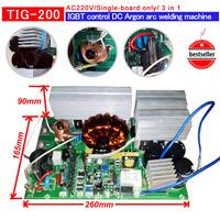 TIG 160 200 IGBT PCB  Single boards for  IGBT inverter welding machine AC220V  inverter pcb inverter welding pcb 3 in 1