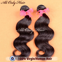 "Rosa Hair Products Brazilian Body Wave 100%Human Hair Weave Mix Length 8""-30""2 Bundles Lot Cheap Brazilian Virgin Hair Extension"