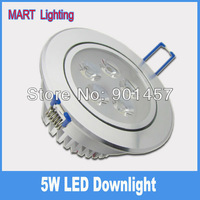 5W  Luxury LED recessed ceiling lamp integrated leans 550lm 110X45mm