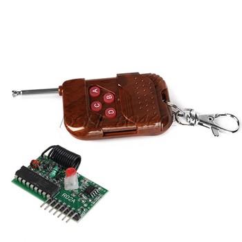 4 Channel 433MHZ RF Radio Wireless Controller Module Remote Control