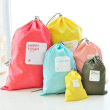 2 Sets High Quality Waterproof Travel Bag Storage Bags In Bag 4pcs/Set XS+S+M+L(China (Mainland))