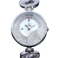 Wrist Watch Round Top Quality Grand Czech Clear Crystals Japan Myota 2035 Movement High Elegance Luxury - VC Mart