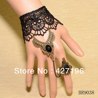 Min. order $10 (mix items) bracelet chain ring for ladies girls 2013 summer hand chain ring bracelet free shipping