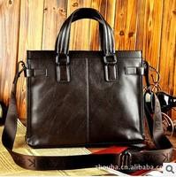 Free Designer Fashion Vintage Mens Genuine Leather Bags Briefcase Shoulder Messenger Bags Men Handbags Cross Body Bags Laptop