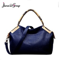 women leather handbags Large Crocodile Skin Vintage Shoulder Messenger bags Famous Designer Brand Tote bag Top Quality