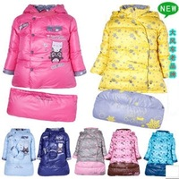 free shipping 2013 christmas newborn winter design fashion carters cute baby coats girls boys sleeping bag down jackets D906