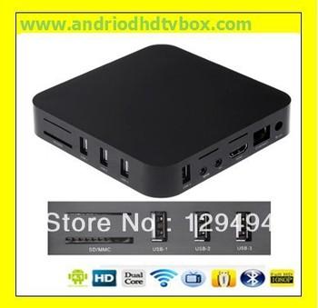 4.0.4 Android TV Box,XBMC Midnight Preinstalled,Amlogic 8726 M3, ARM Cortex A9,Internet TV