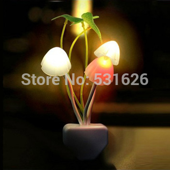 Free Shipping 1Pcs Christmas holiday light Novelty Avatar Light LED Night Light dream mushroom Fungus Lamp Decoration Gift
