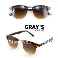 FREE SHIPPING 2013 New Arrival Vintage Designer Sunglasses Man Women Unisex Fashion Sunglasses  High Quality Cheap Price