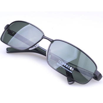 2014valentine's day aviator sunglasses 100%UV400  sunglasses men Black/green/tea lens metal frame Anti-Reflective outdoors shade