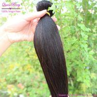 Free shipping queen 2pcs 3pc 4pc lot  new peruvian virgin remy human  milky way relaxed texture hair for balck women mac make up