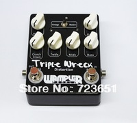 Triple Wreck high gain distortion pedal  Hand Built  Guitar Effect Pedals. 2013  new  Free Shipping