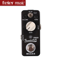 New Mooer Bass Effect Pedals ThunderBall Bass Fuzz & Distortion Pedal  True Bypass Free Shipping