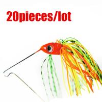 20pcs 13.6g  Spinner Bait Fishing Hard Crankbait Minnow Fishing Lures/Hooks baits