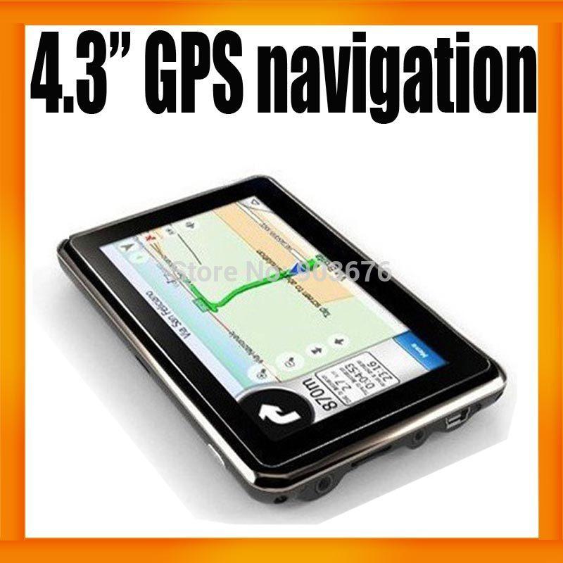 GPS-навигатор 4,3/gps Sytem Nav FM 4 2 gps навигатор 7 hd gps 800 nav bluetooth av fm